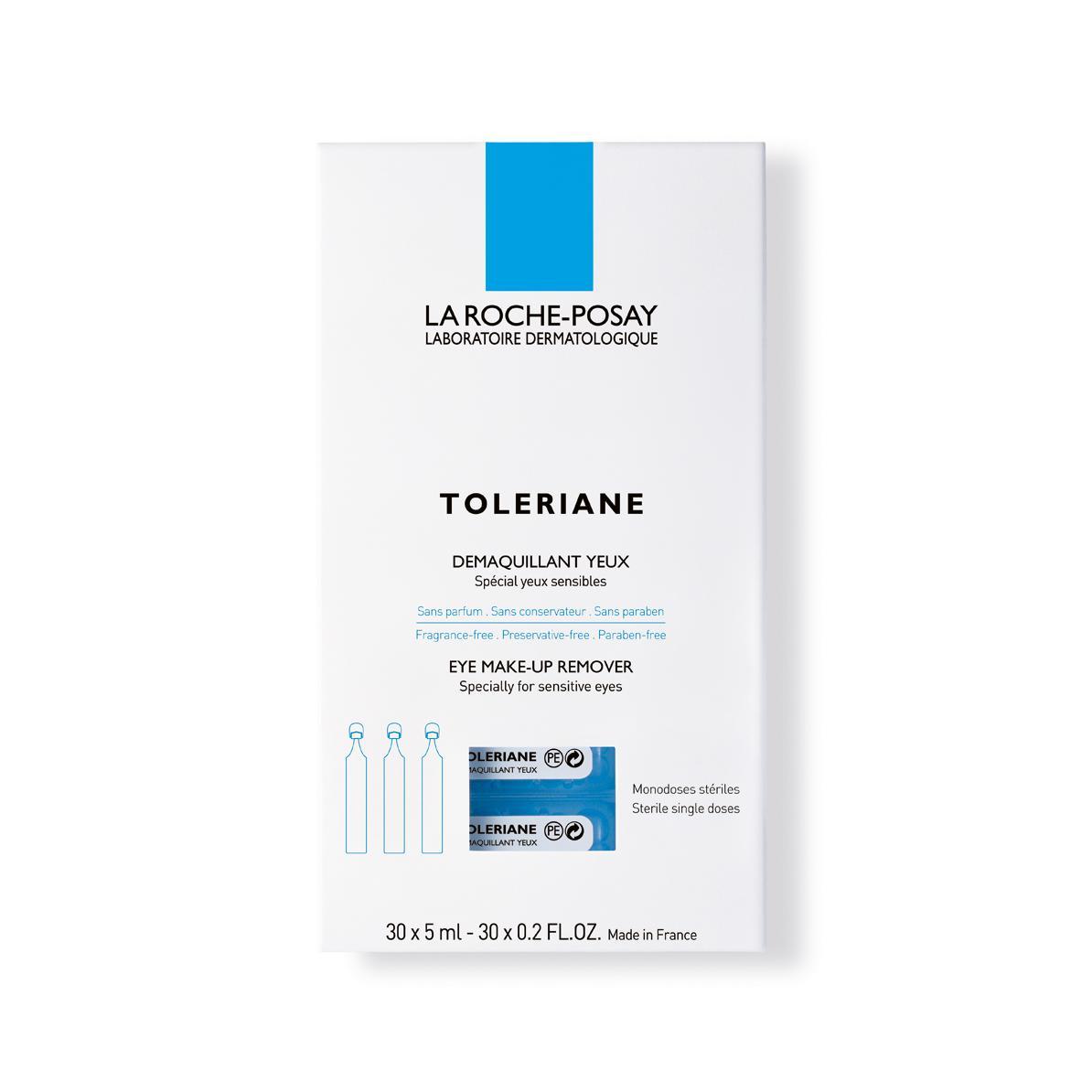 La Roche Posay Toleriane ultra oogreiniger monodosissen 5ml