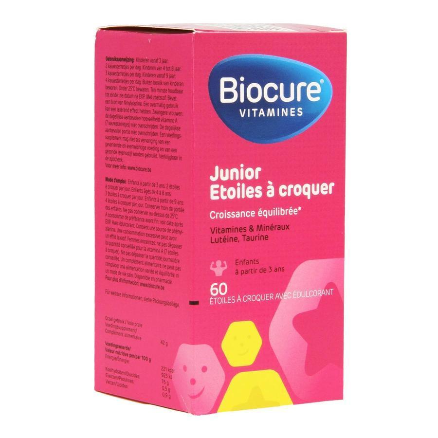 Image of Biocure junior étoiles à croquer