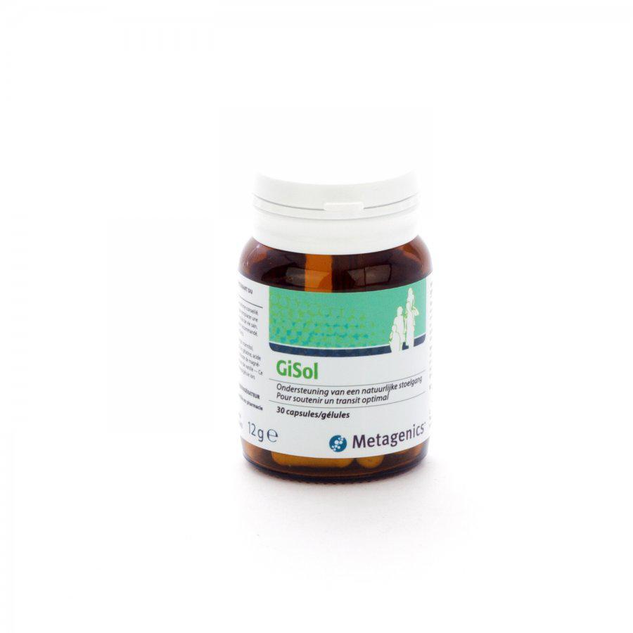 Metagenics Gisol 30cap