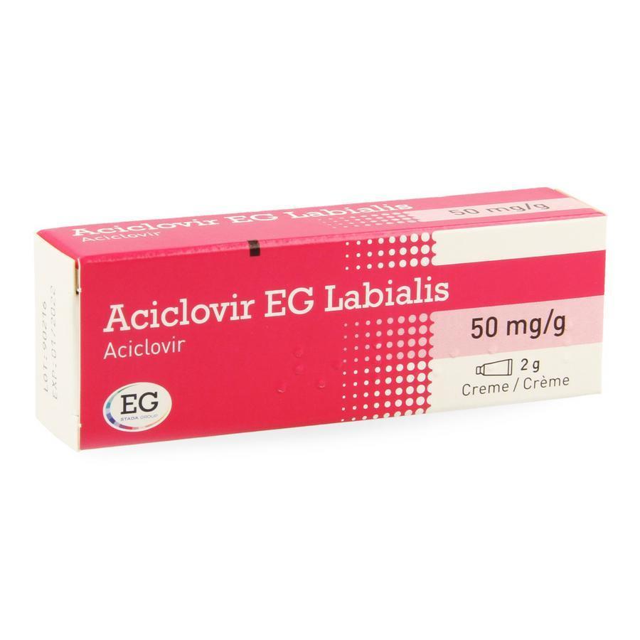 Image of Aciclovir EG labialis
