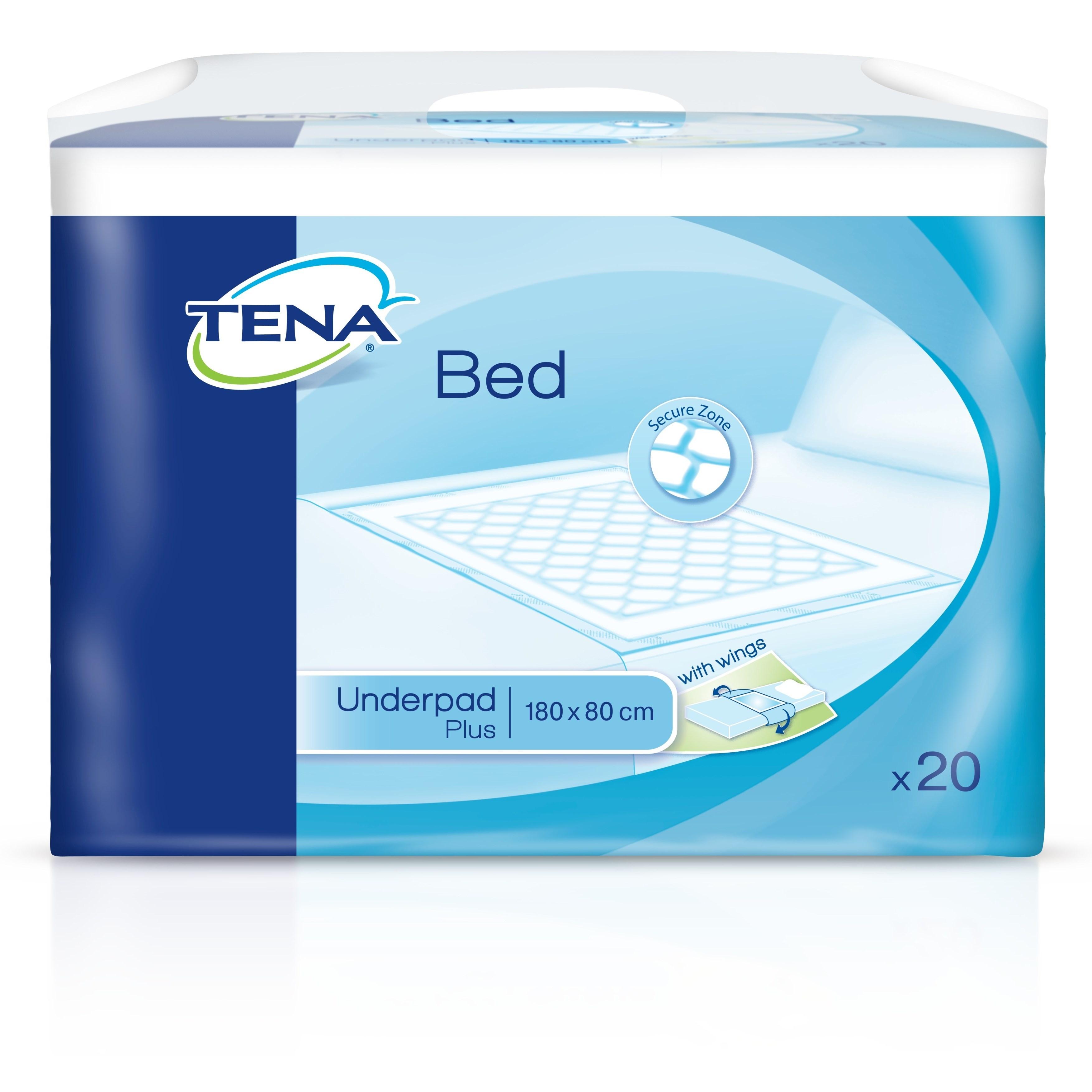 Image of Tena Bed protections de lit avec ailettes