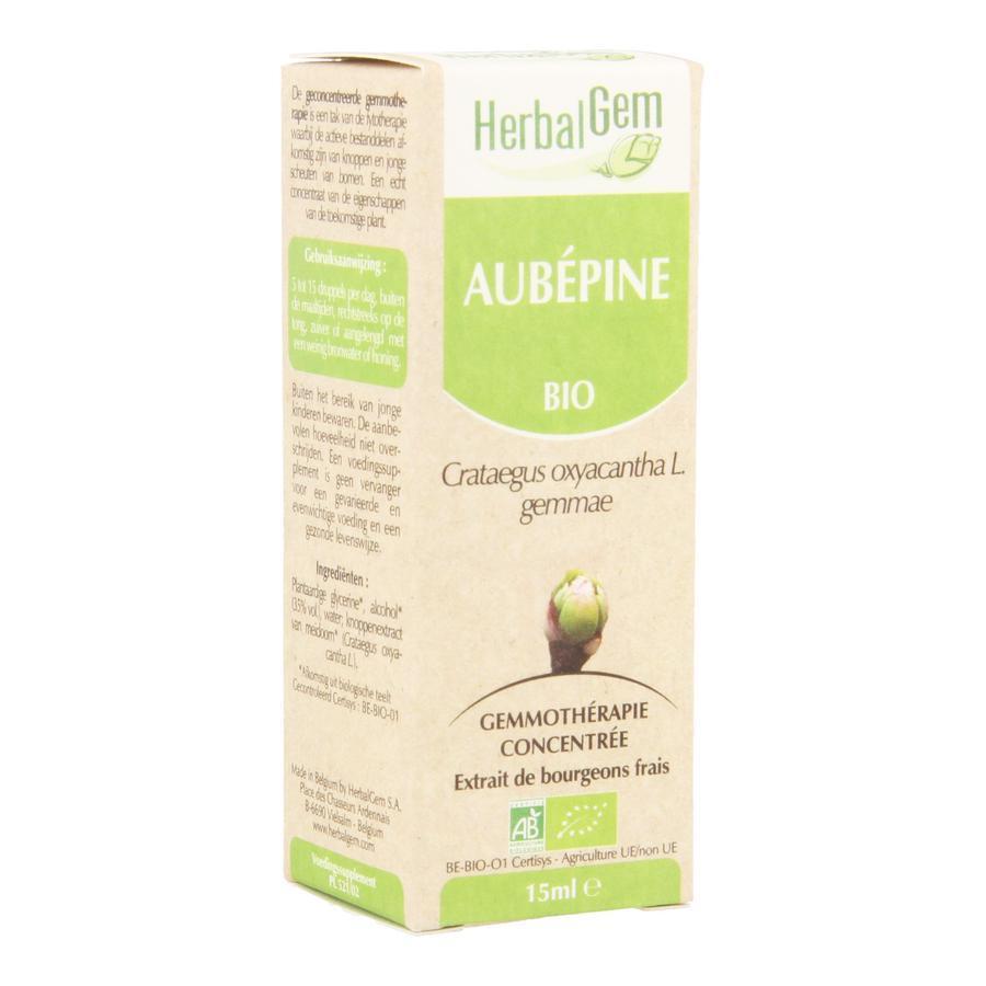 Image of Herbalgem aubépine bio