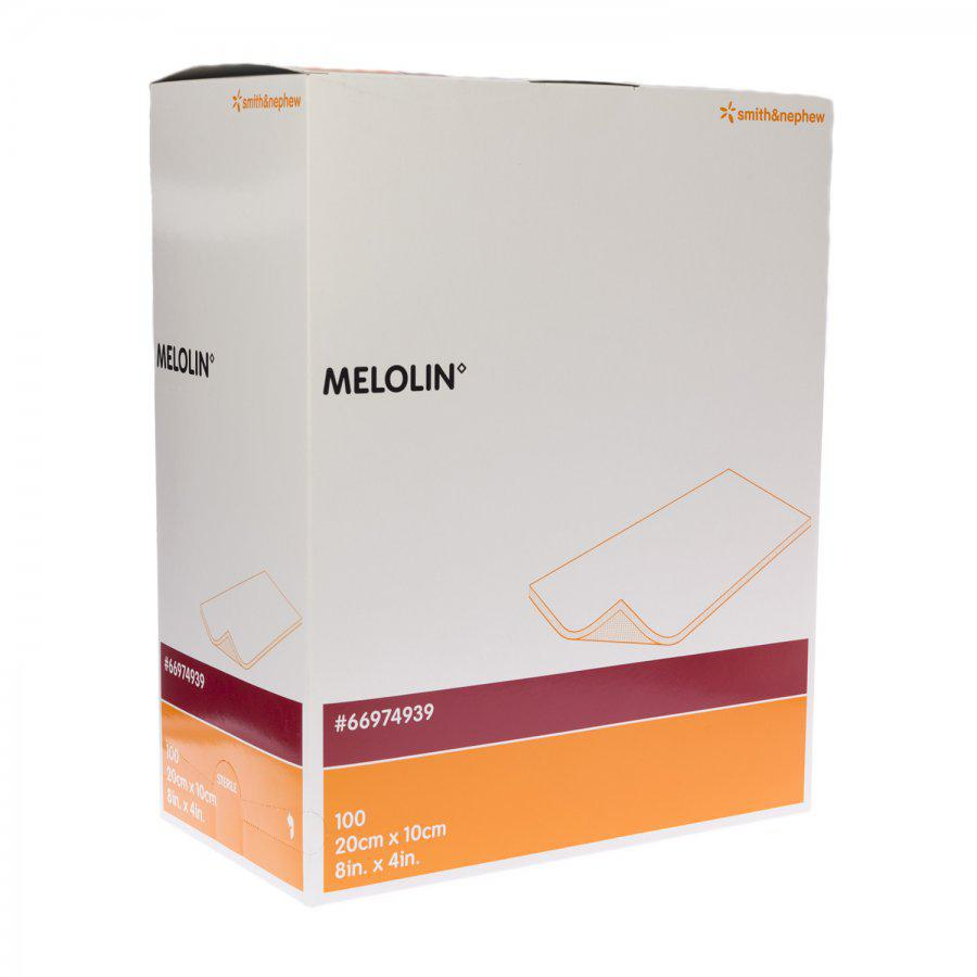 Image of Melolin steriele kompressen 10cmx20cm