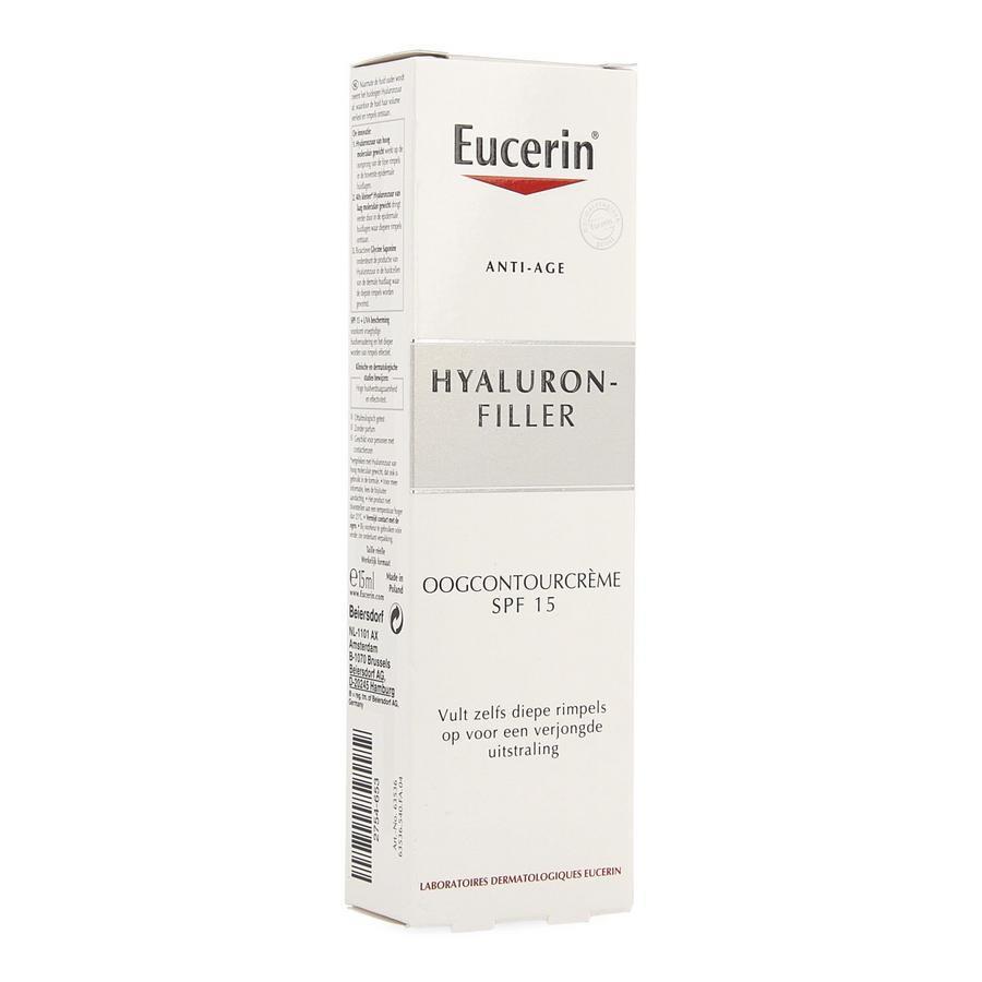 Eucerin Hyaluron Filler Oogcreme 15ml