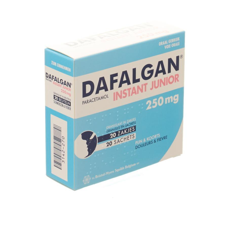 Image of Dafalgan Instant Junior 250mg