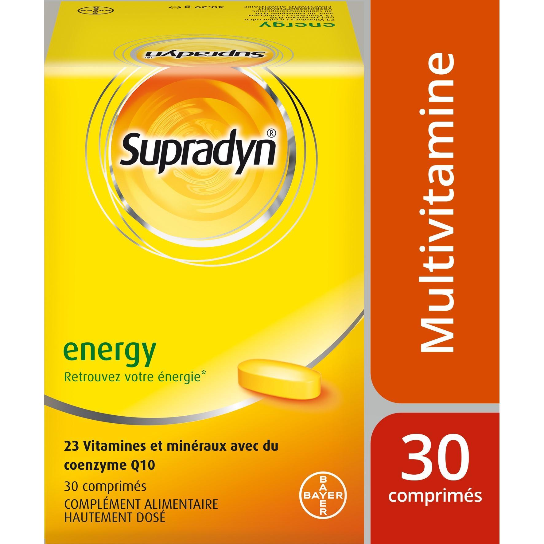 Image of Supradyn energy + co-enzyme Q10