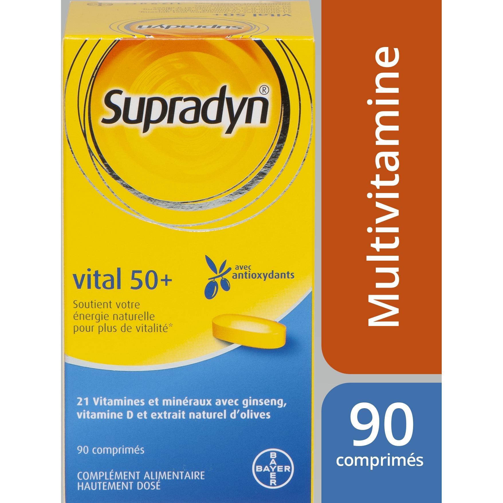 Image of Supradyn vital 50+