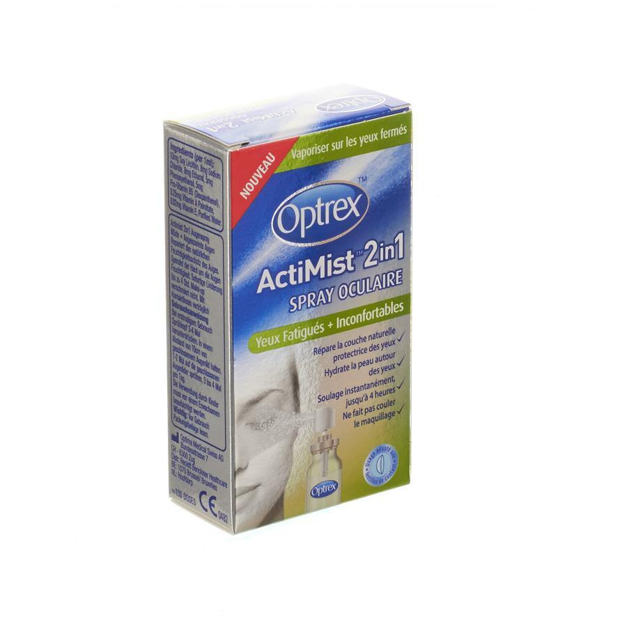 Image of Optrex actimist 2 en 1 yeux fatigués+inconfortables