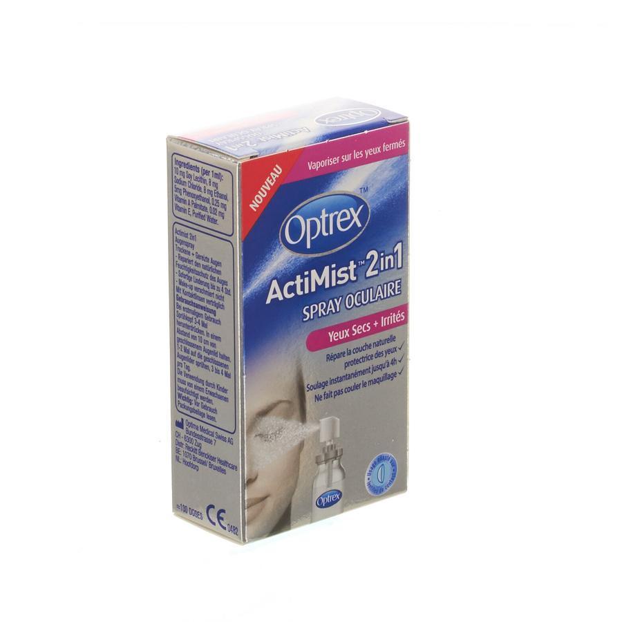 Optrex Actimist Droge Ogen 10ml
