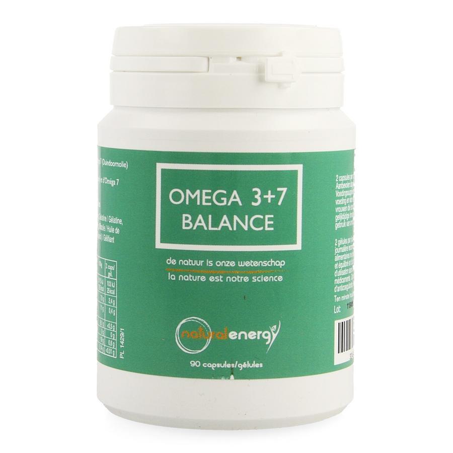 Natural Energy Omega 3+7 balance