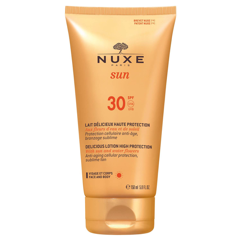 Image of Nuxe Sun Melk gelaat & lichaam SPF30