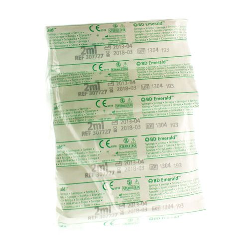 Image of BD Emerald seringue 2ml