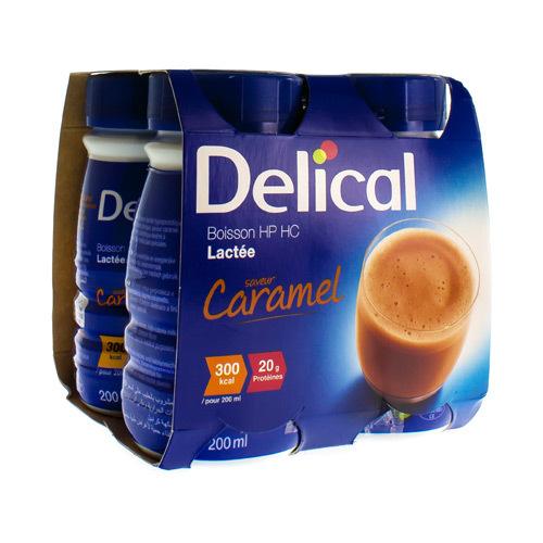 Image of Delical boisson lactée caramel Hp-Hc