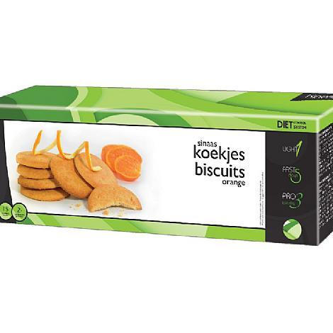 Image of Kineslim biscuits orange