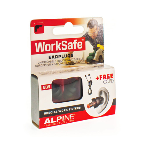 Image of Alpine WorkSafe oordoppen