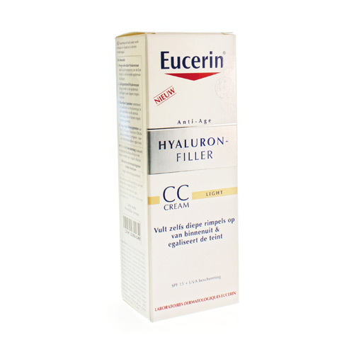 EUCERIN hyal fill cc cream lig 50ml