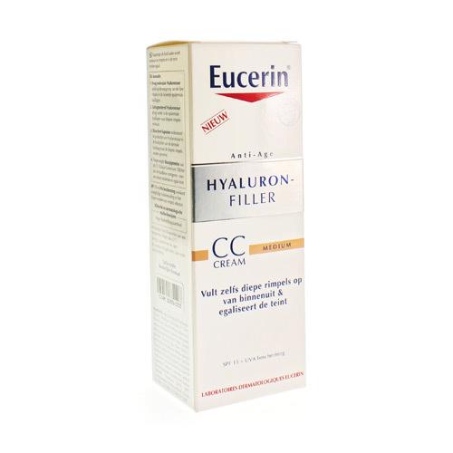 EUCERIN hyal fill cc cream med 50ml