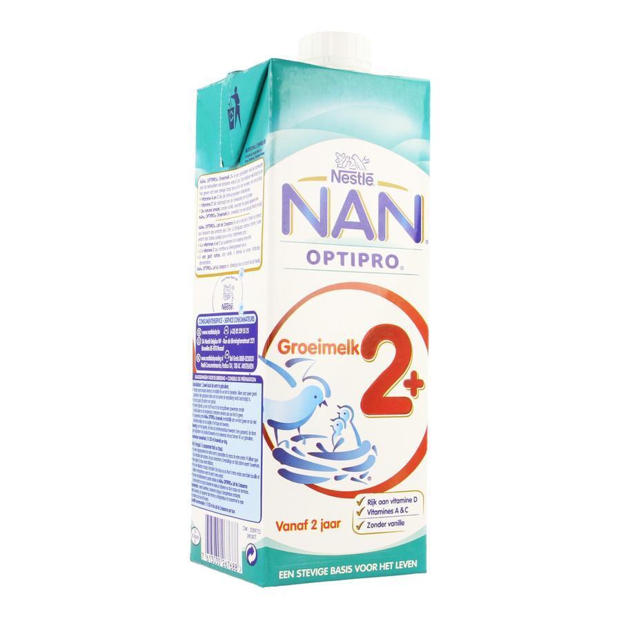 Nan Pro Groeimelk +2jaar Tetrabrick 1l