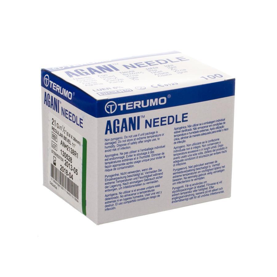 Image of Aiguille Terumo Agani 21G 0,8x50mm