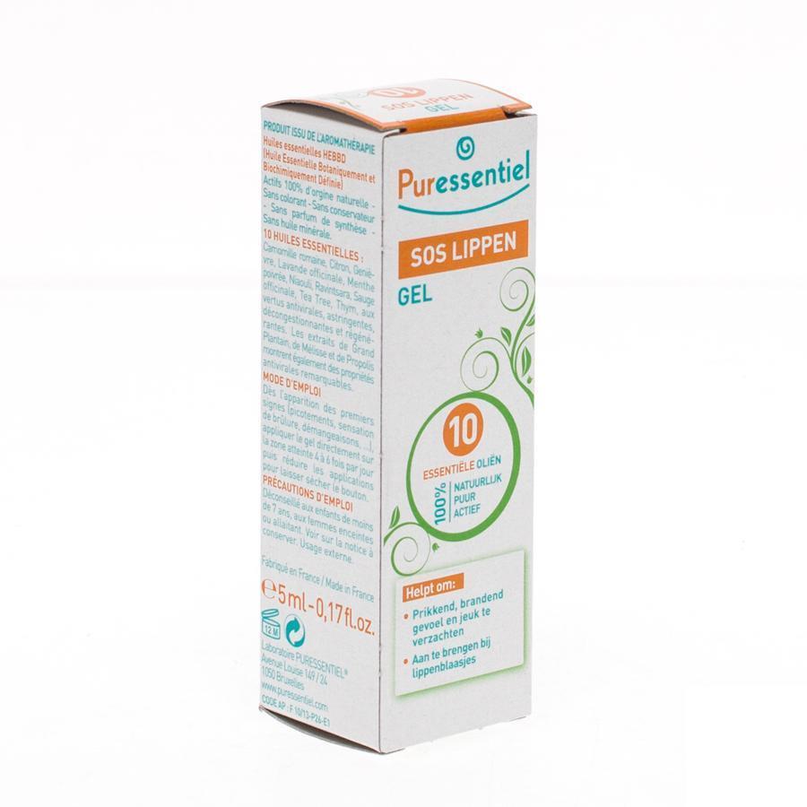 Image of Puressentiel 10 SOS lippen gel
