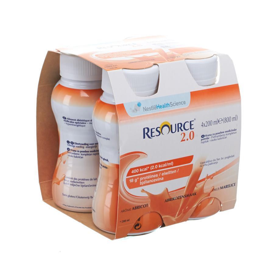 Image of Nestlé Resource 2.0 abricot