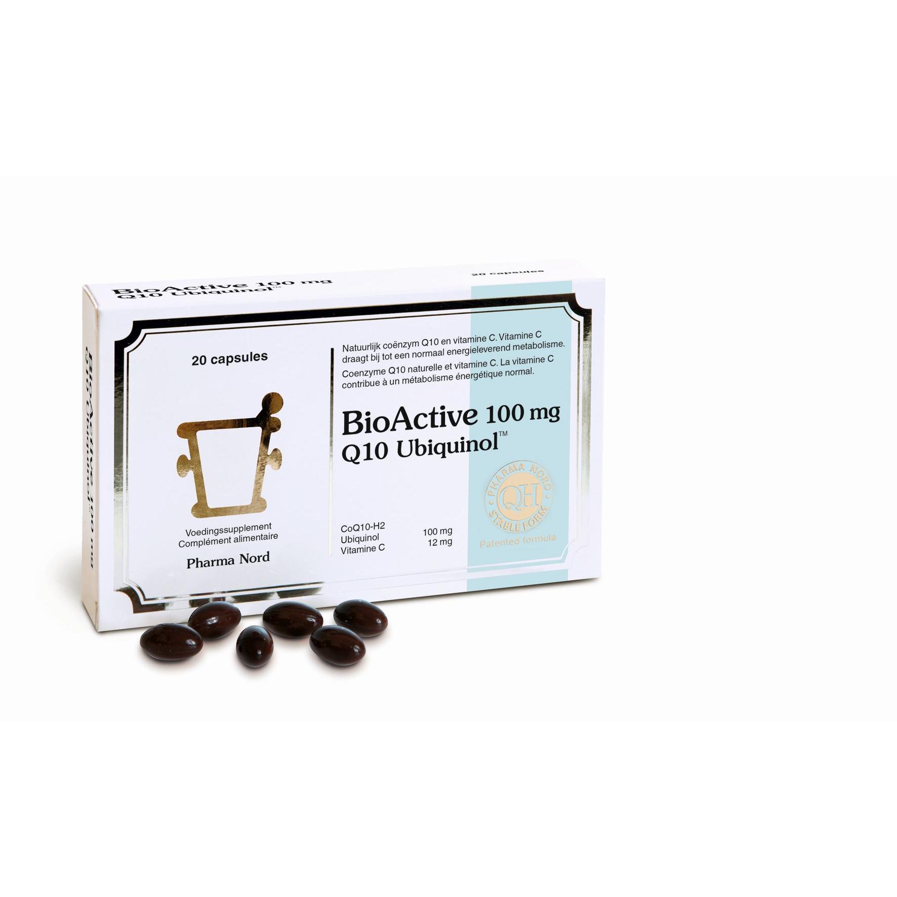 Image of BioActive Q10 100mg Pharma Nord