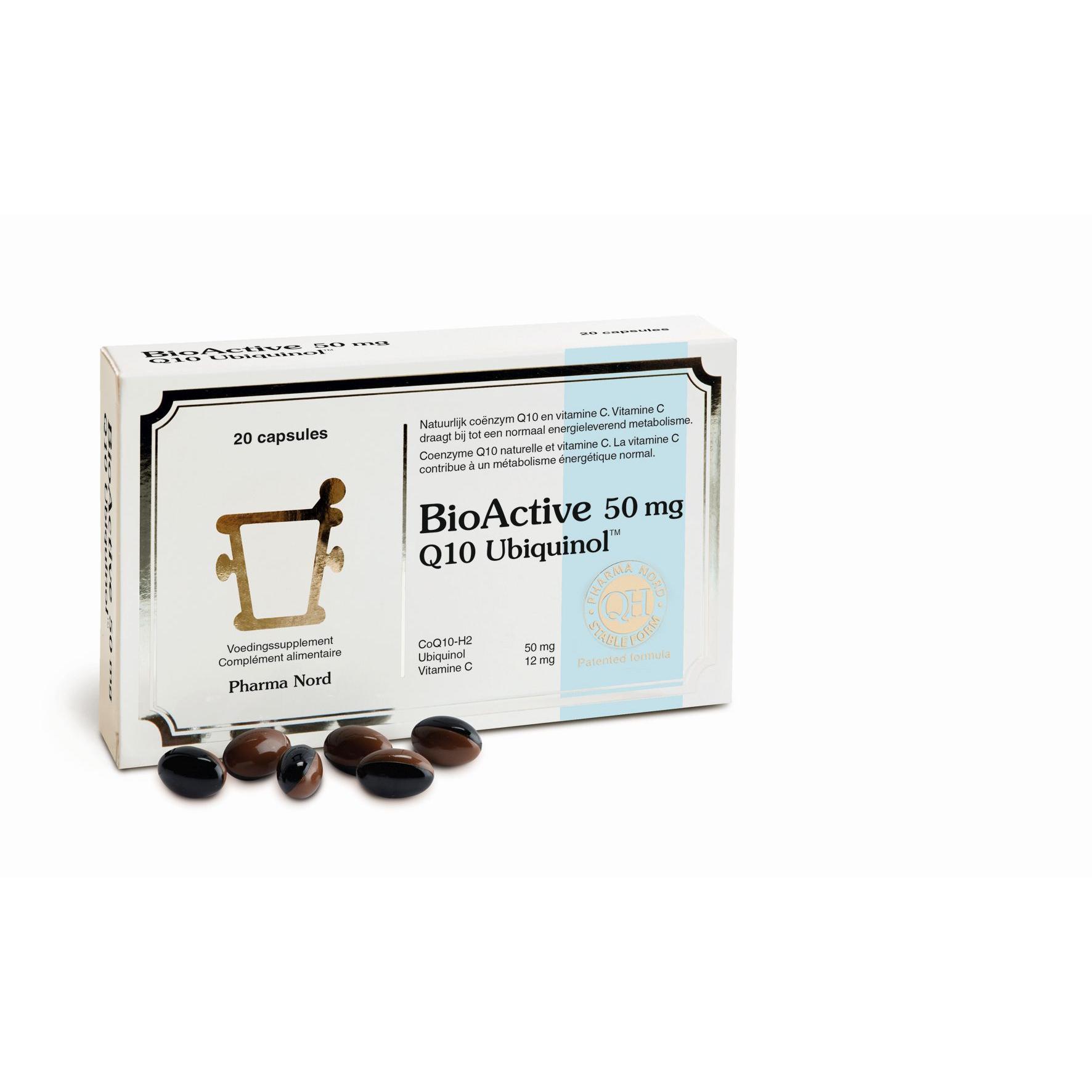 Image of BioActive Q10 50mg Pharma Nord