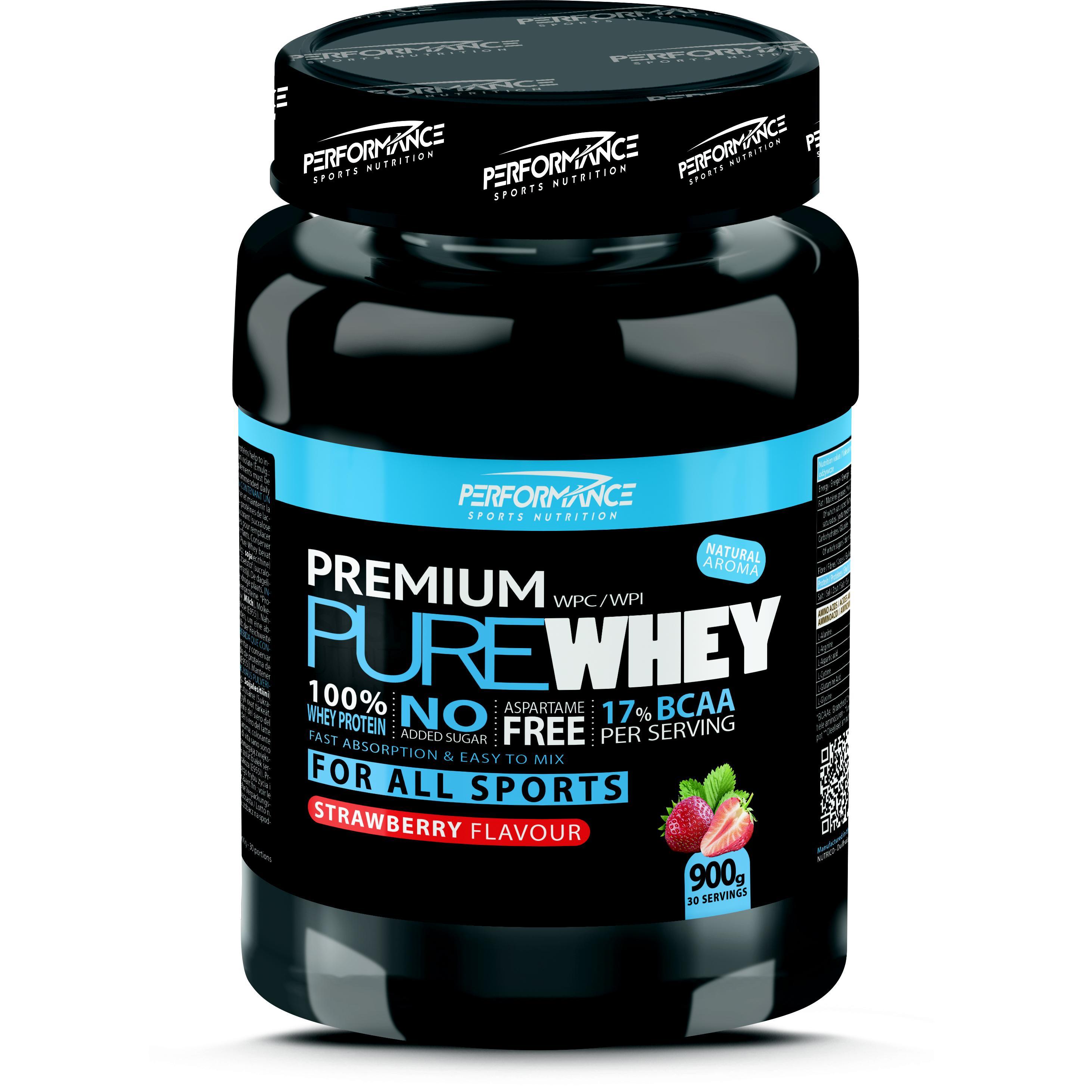 Performance Premium Pure Whey aardbei