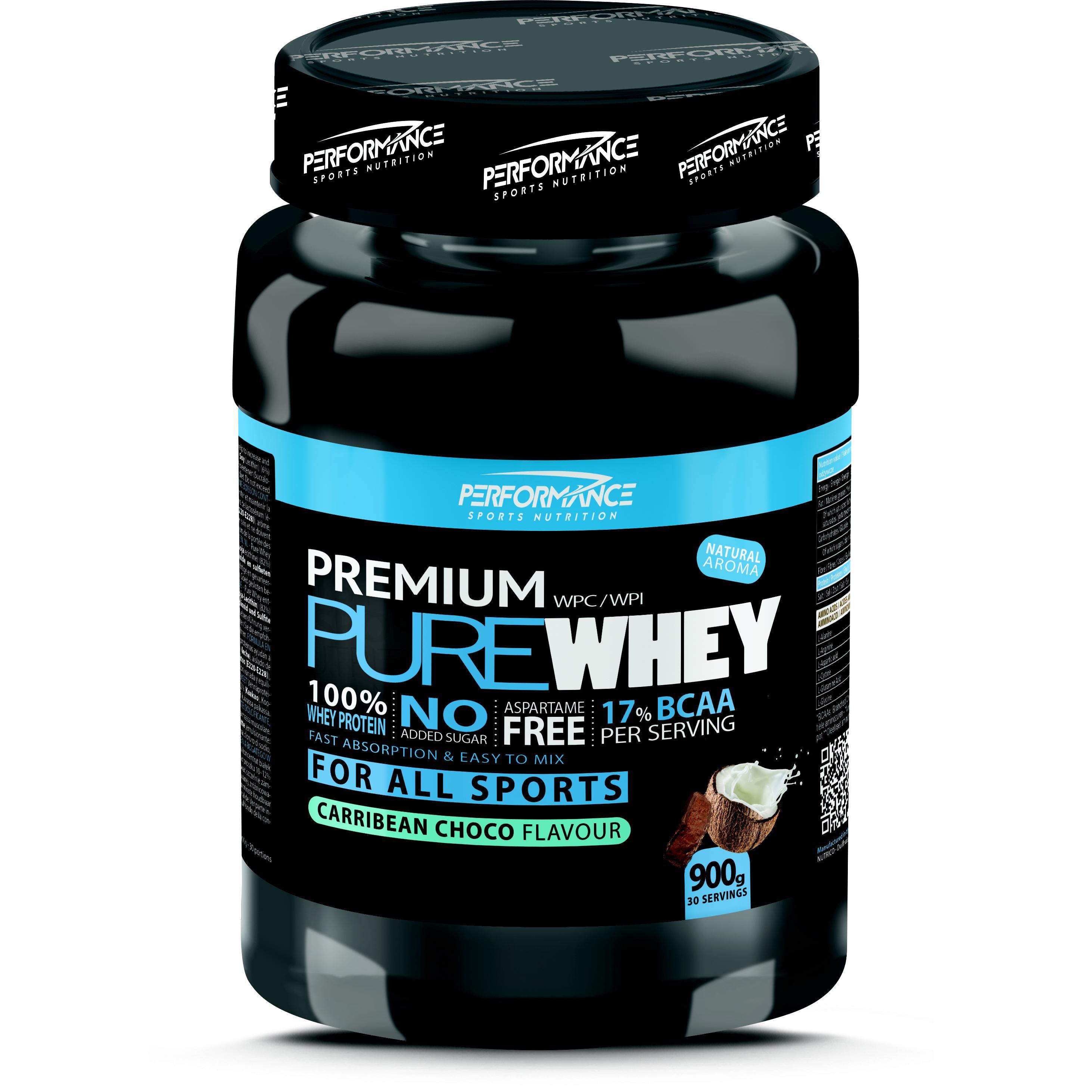 Performance Premium Pure Whey carribean chocolate