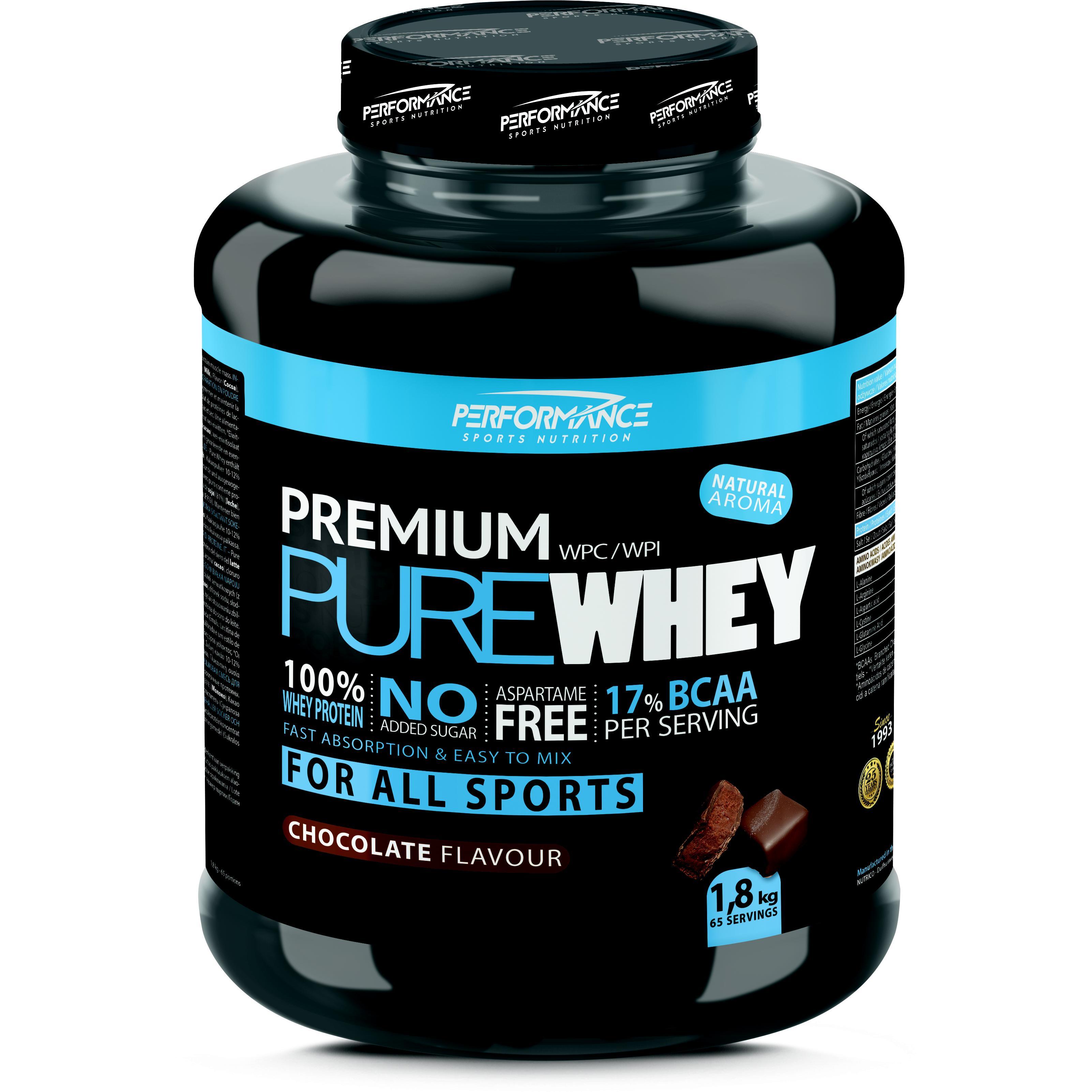 Performance Premium Pure Whey chocolade