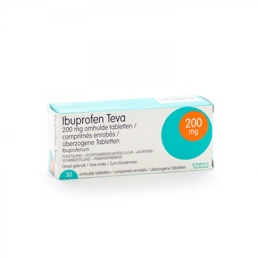 Image of Ibuprofen Teva 200mg