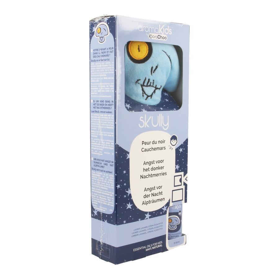 Image of Aromakids kit Skully spray+knuffel