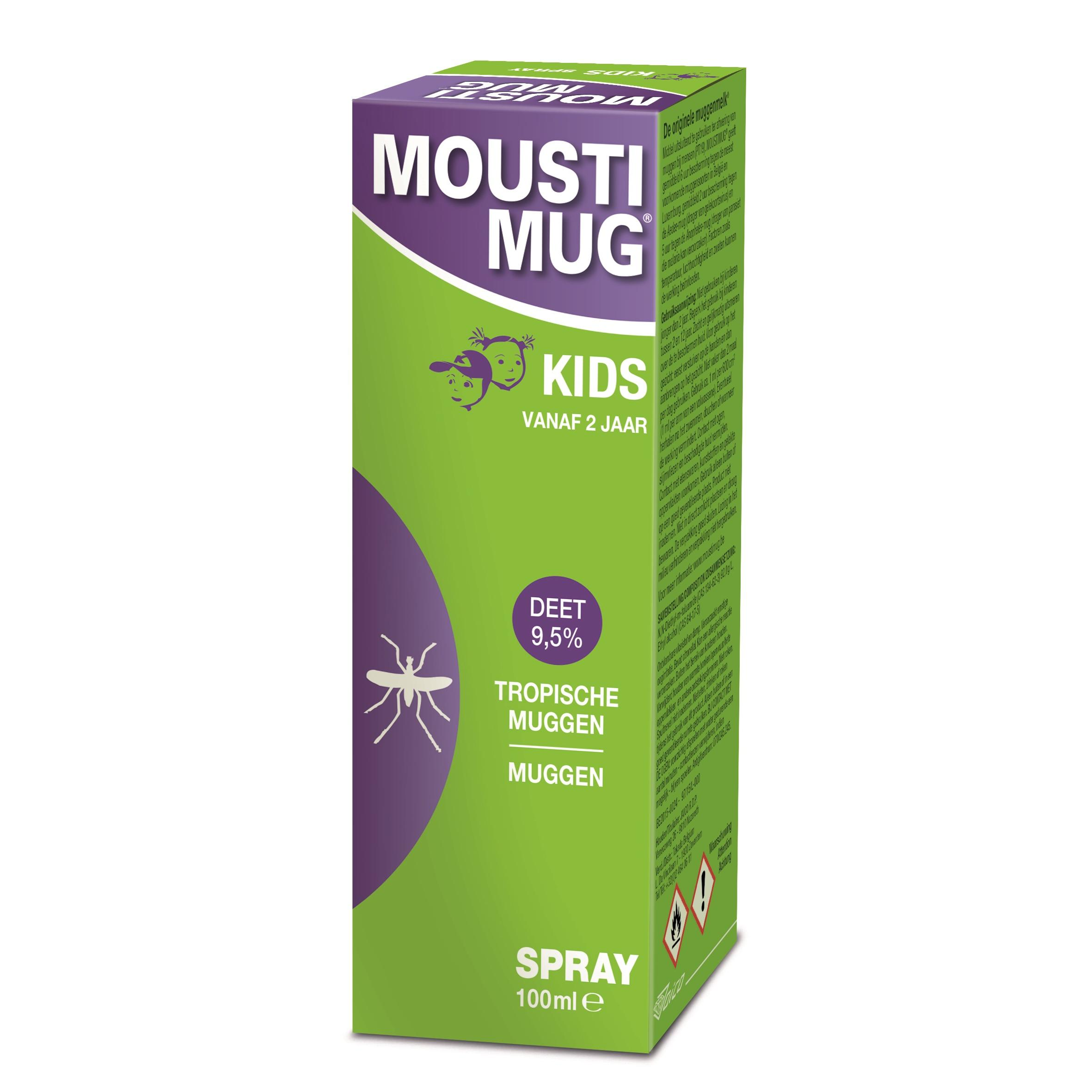 Image of Moustimug spray 9,5% DEET