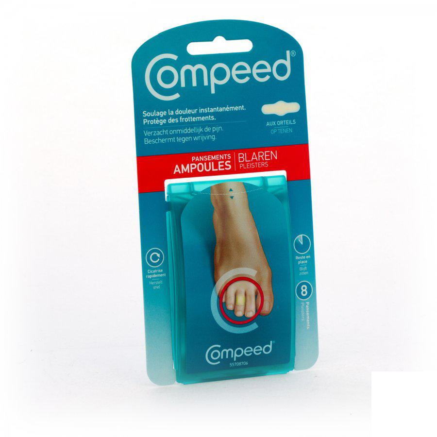 Image of Compeed ampoules aux orteils