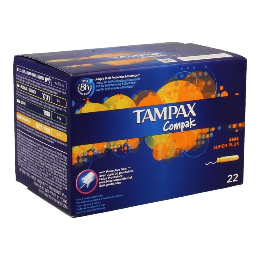 Image of Tampax Compak Super Plus