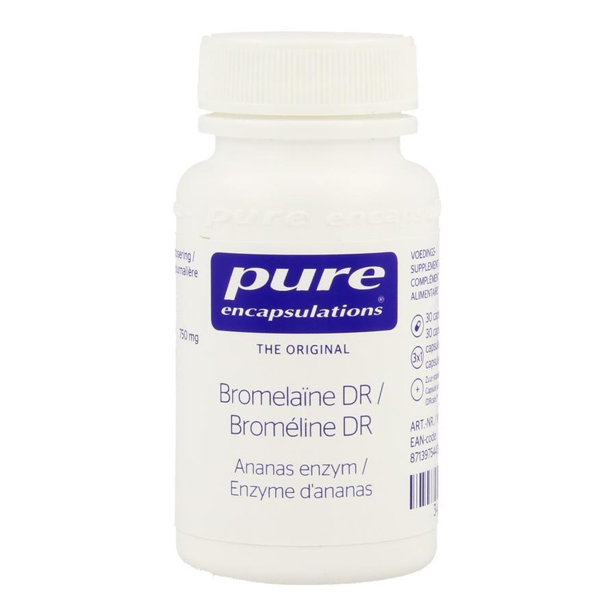 Image of Pure encapsulations Bromélaïne DR