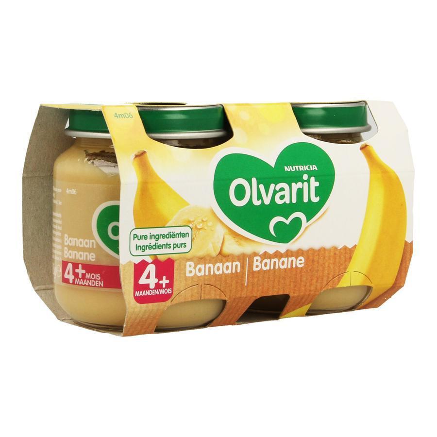 Image of Olvarit compote banane 4 mois+