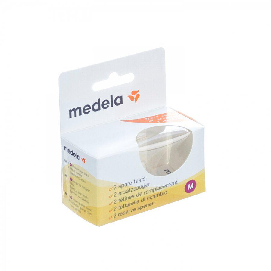 Medela Spenen medium flow 2stuks