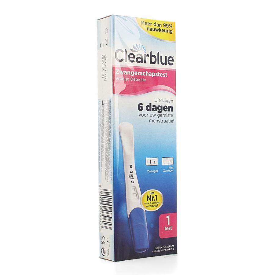 Image of Clearblue Vroege detectie Zwangerschapstest