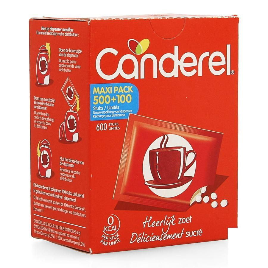 Image of Canderel édulcorant recharge pour distributeur