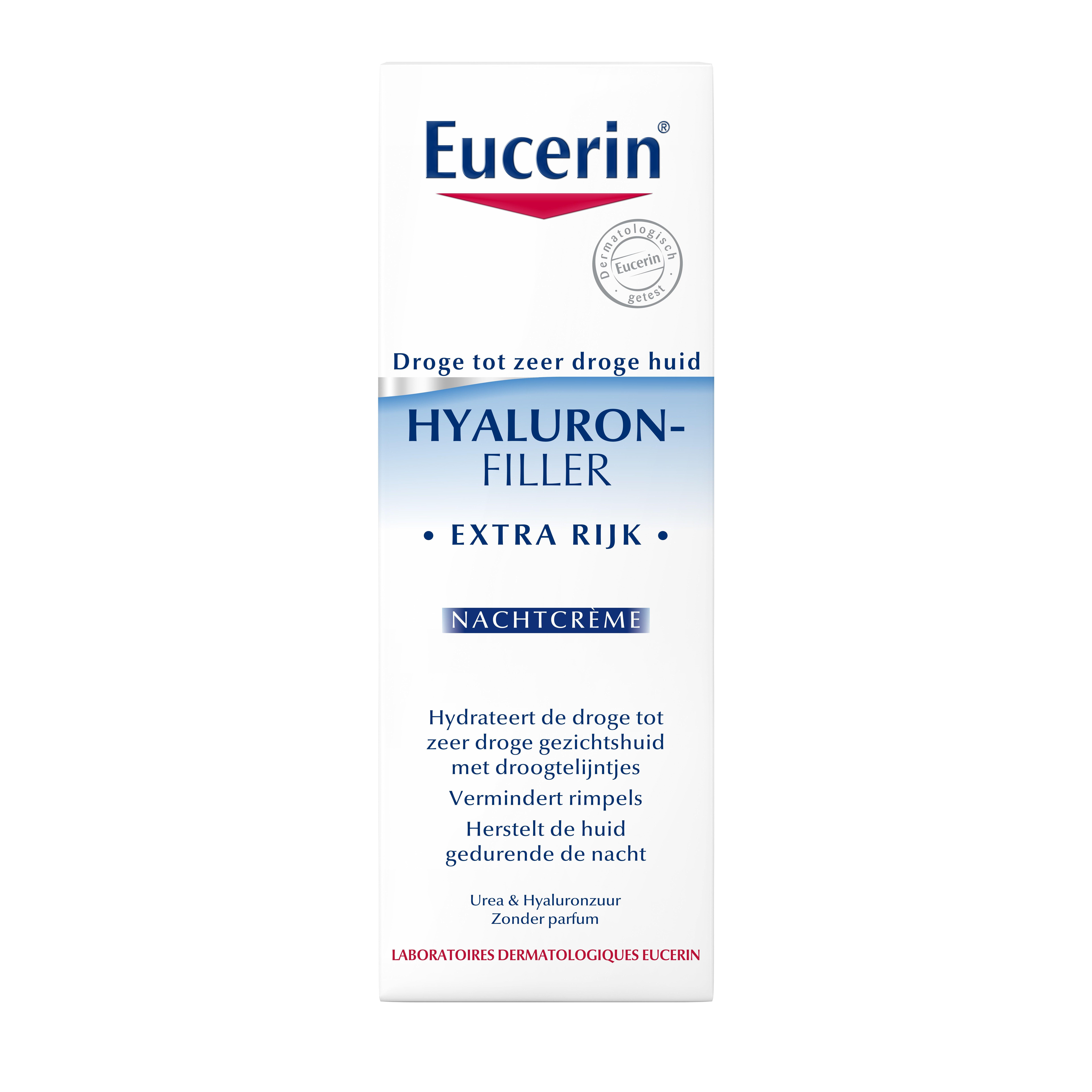 Eucerin Hyaluron-Filler Extra rijke nachtcrème