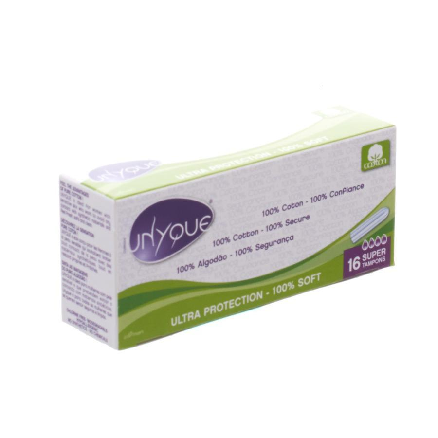 Image of Unyque Tampon super 100%katoen