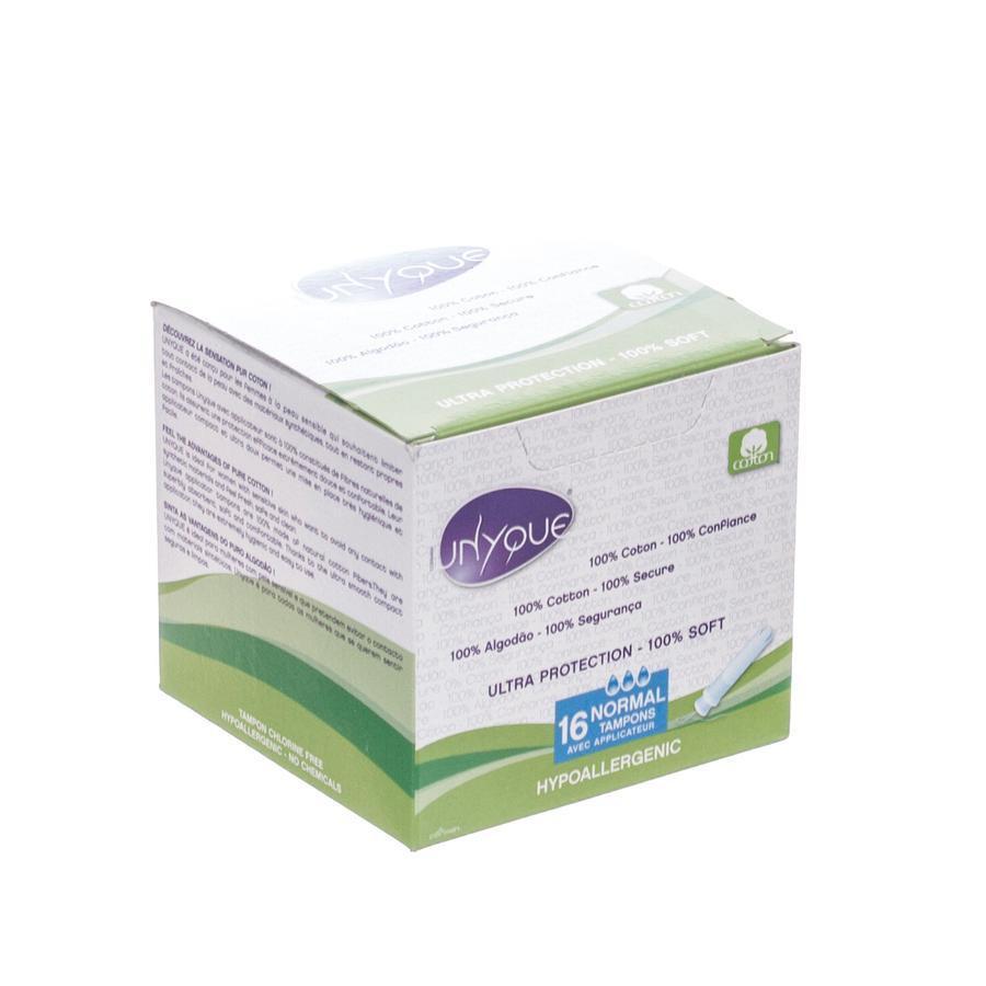 Image of Unyque Tampon normaal + applicator 100%katoen