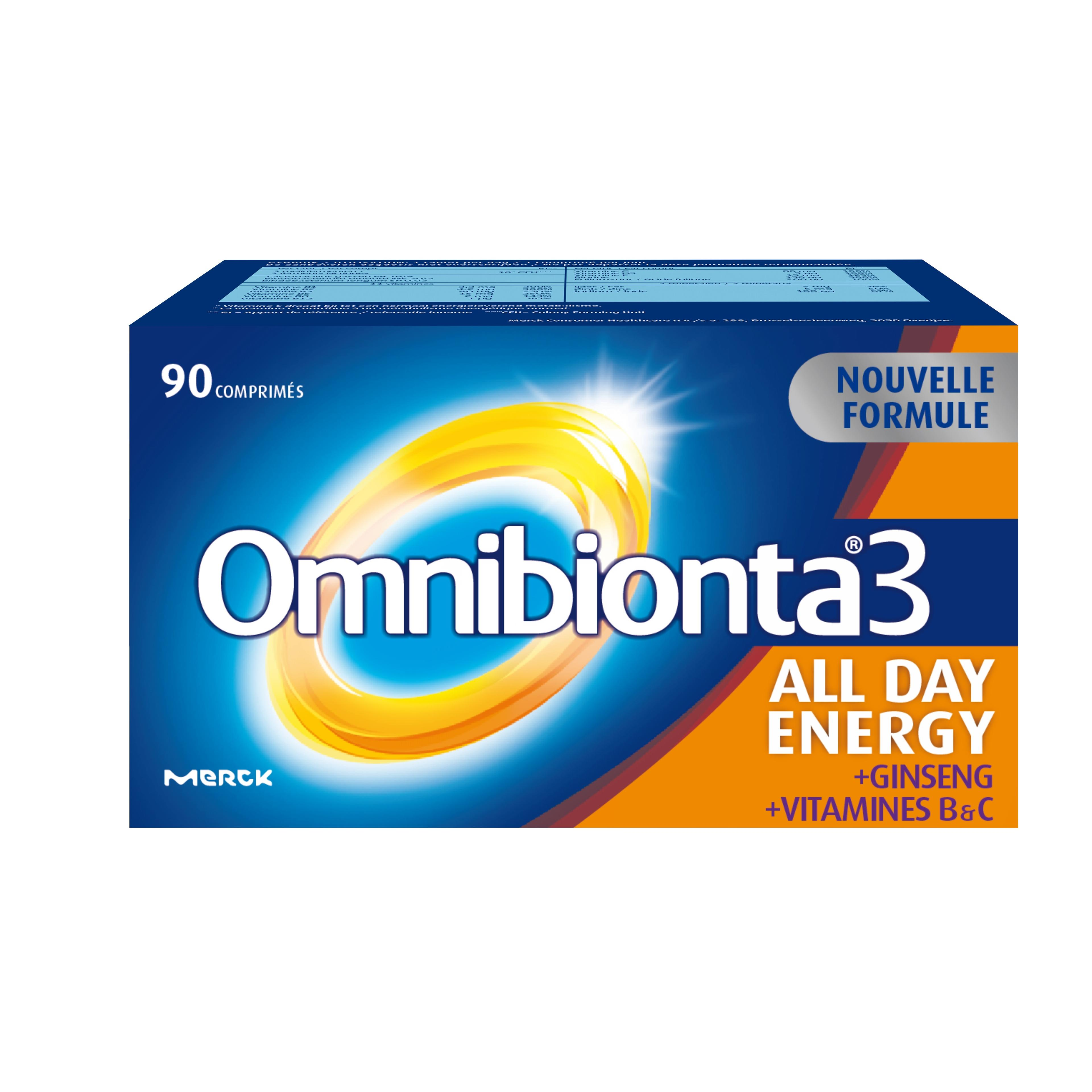 Image of Omnibionta 3 all day energy