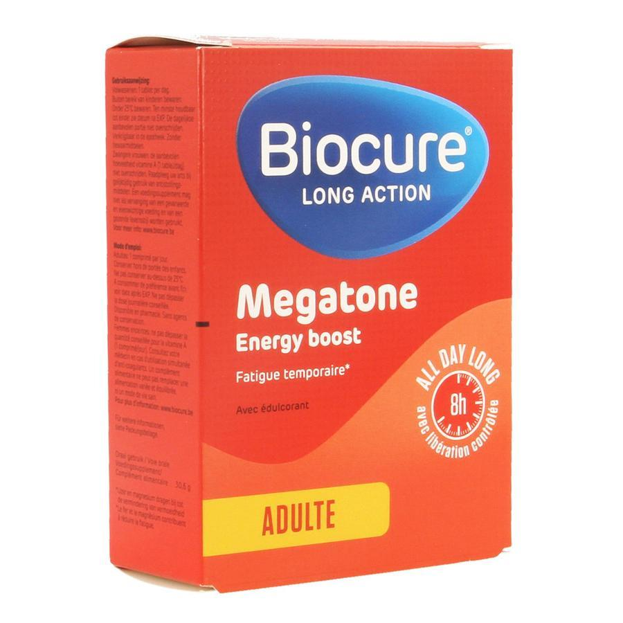 Image of Biocure LA Mégatone Energy Boost