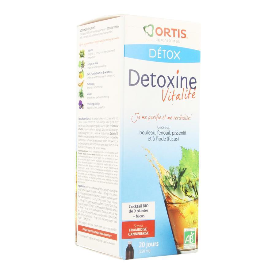 Image of Ortis Détox Detoxine Vitalité framboise-canneberge