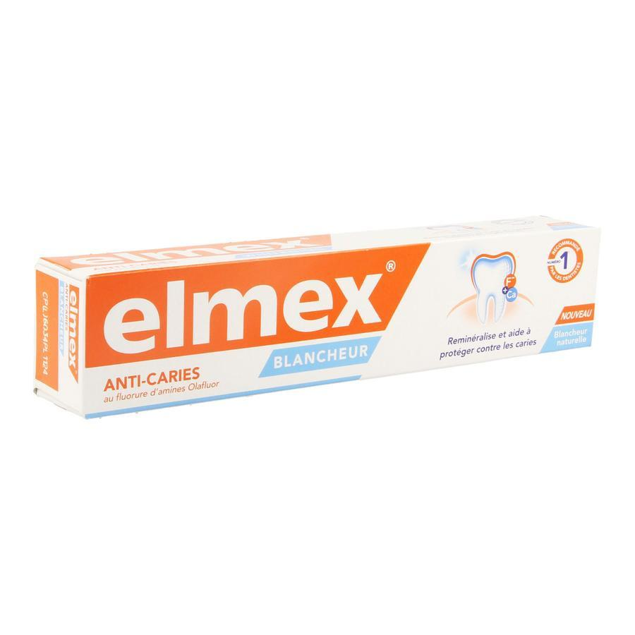 Image of Elmex Anti-Caries Dentifrice blanchissant