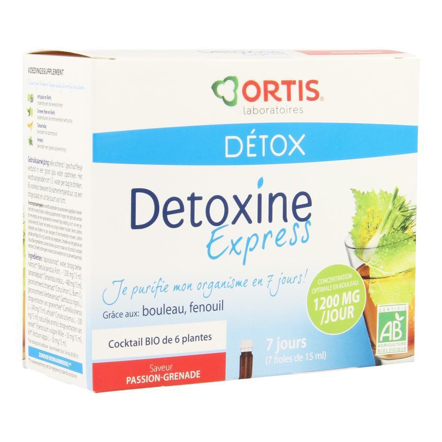 Image of Ortis Détox Detoxine Express passion-grenade