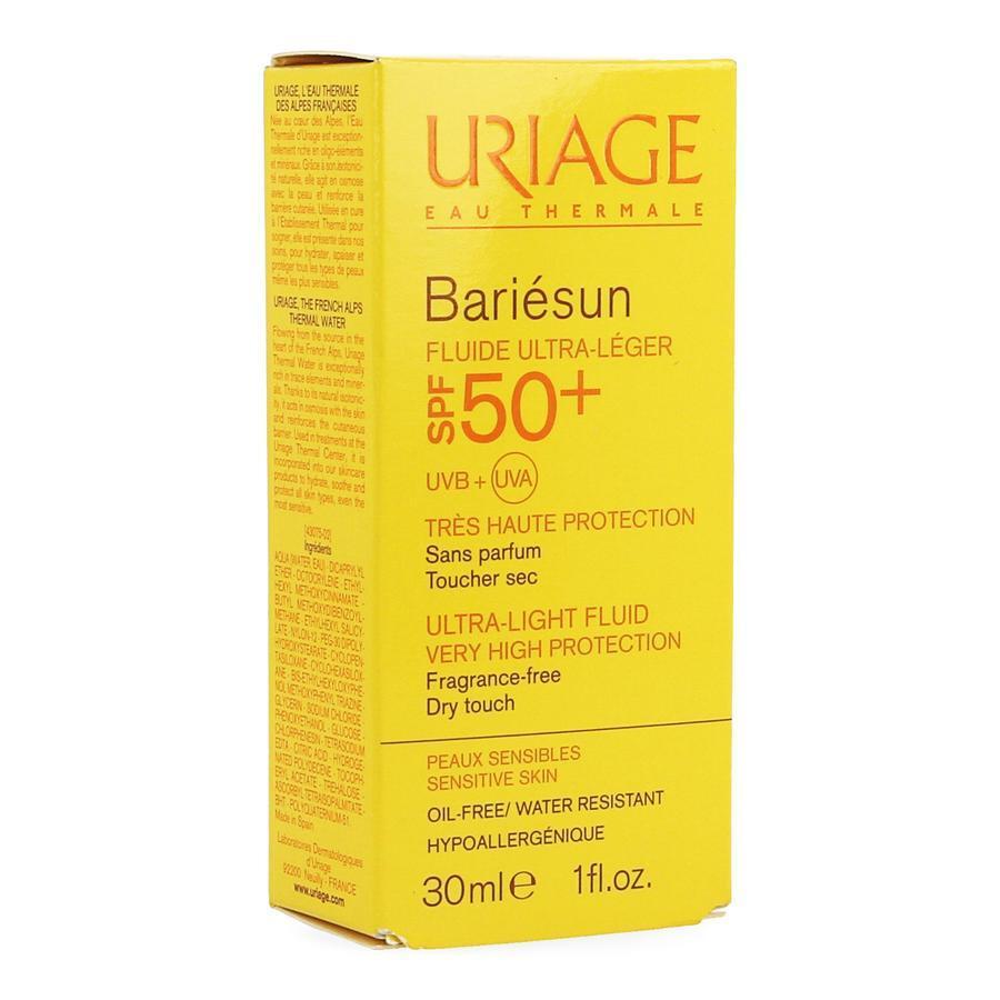 Image of Uriage Bariesun Zonnecrème SPF50