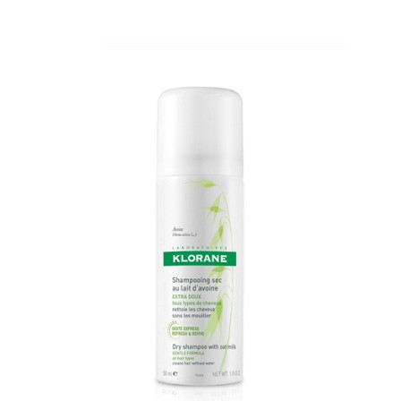 Klorane Droogshampoo Met Havermelk Spray 50ml